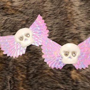 Accessories - Winged Skull Pasties